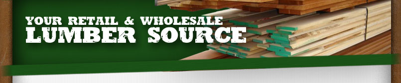 Your source for retail and wholesale lumber